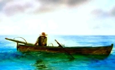 读《老人与海》有感四年级