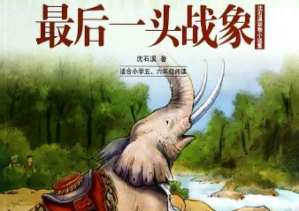 《最后一头战象》读后感【三年级】