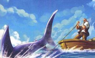 读《老人与海》有感【6年级】